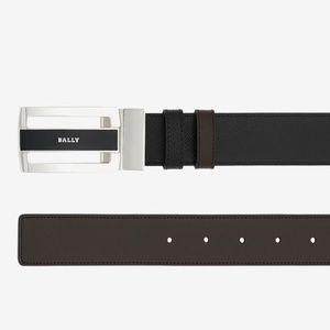 BALLY • Fabazia Leather Reversible Belt